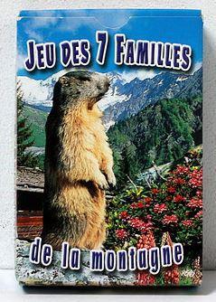 JEU CARTES 7 FAMILLES