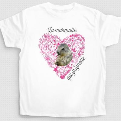 T-shirt la marmotte qui grignote