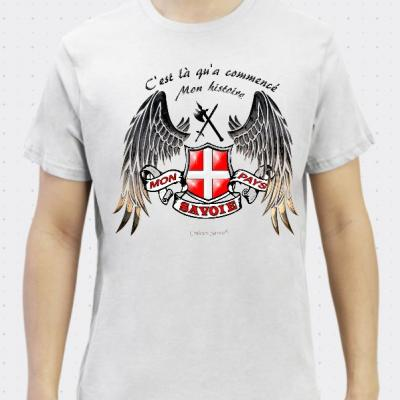 T-shirt bio Savoie mon histoire