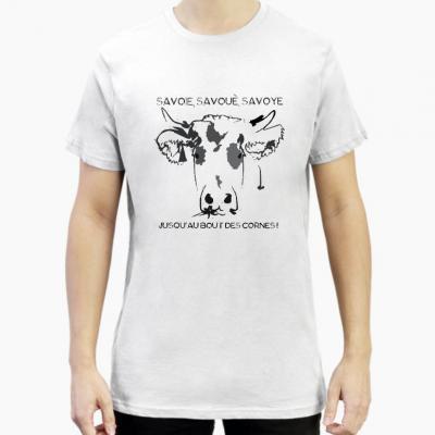 T-shirt vache Savoué Savoye Savoie