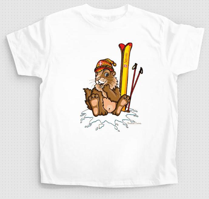 Tshirt enf marmotski