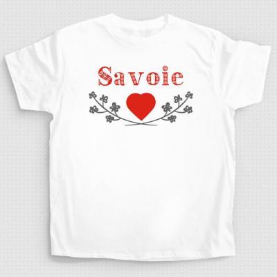 T-shirt cœur de Savoie