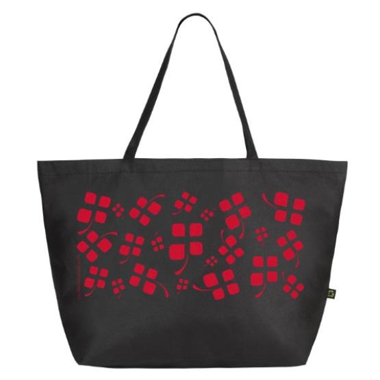 sac cabas noir couleurs savoie