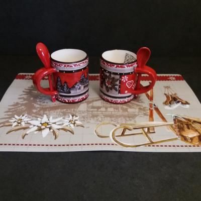 MUG RELIEF/SET DE TABLE